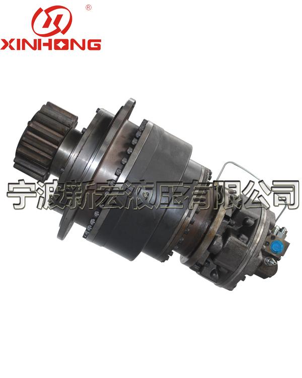 Hydraulic rotary device