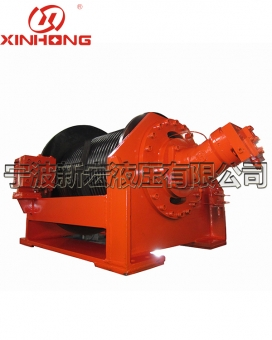 XHJ20 ton hydraulic winch with free release function