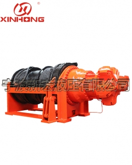 XHJ20 ton hydraulic winch of the station