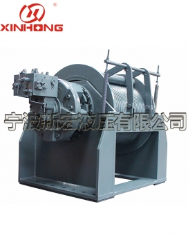 XHSJ10 ton hydraulic winch with floating function