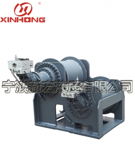 Multi piece split combined winch